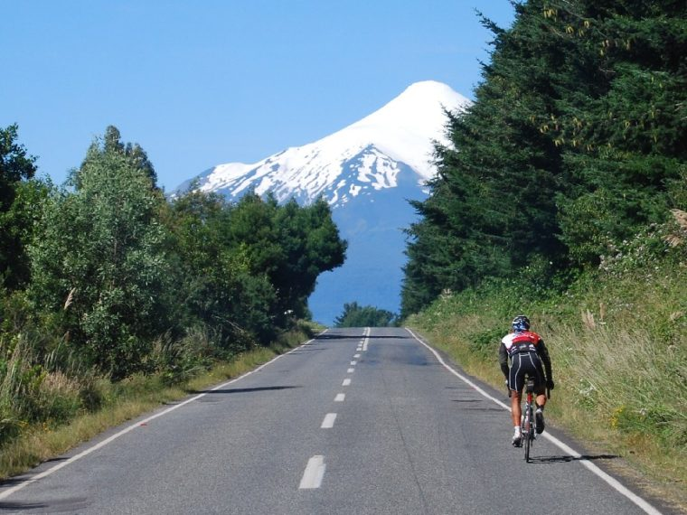 Patagonia with road bikes: Andes and Chiloe Island's double crossing