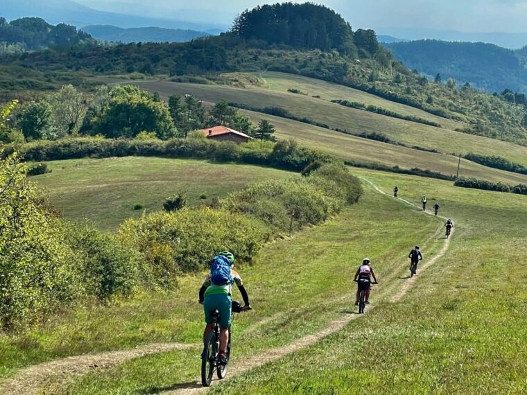 MTB journey between Bologna and Florence